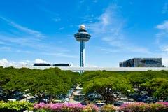 De Luchthaven van Singapore Changi Royalty-vrije Stock Foto