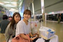 De Luchthaven van Singapore Changi stock foto's