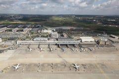 De Luchthaven van Stuttgart Stock Fotografie