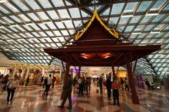 De Luchthaven van Suvarnabhumi Stock Foto