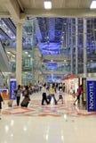 De Luchthaven van Suvarnabhumi Stock Foto's