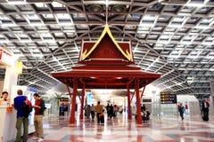 De luchthaven van Suvarnabhumi verfraait gebied Royalty-vrije Stock Afbeelding