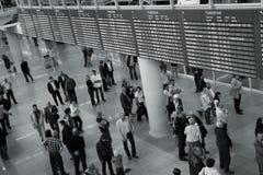 De Luchthaven van Warshau Stock Foto