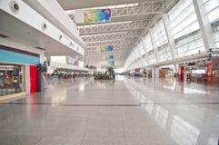 De luchthaven van Wuhantianhe Royalty-vrije Stock Afbeeldingen