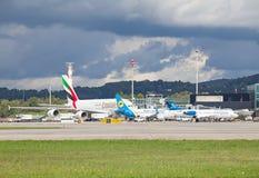 De Luchthaven van Zürich Royalty-vrije Stock Foto's