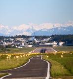 De Luchthaven van Zürich Stock Afbeelding