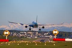 De Luchthaven van Zürich Royalty-vrije Stock Fotografie
