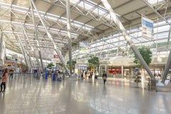 De luchthavenbinnenland van Dusseldorf stock foto