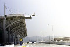 De luchthavenbouw royalty-vrije stock afbeeldingen