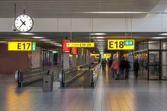 De luchthavengang van Amsterdam Royalty-vrije Stock Fotografie