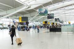 De luchthaventerminal 5 van Heathrow Stock Fotografie
