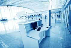 De luchthaventerminal van Shanghai pudong Royalty-vrije Stock Afbeeldingen
