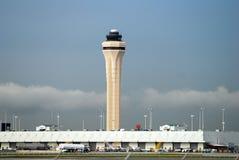 De luchthaventoren van Miami stock afbeelding