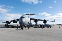 De Luchtmacht Boeing c-17A Globemaster III van de USAF Verenigde Staten Stock Fotografie