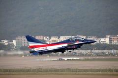 De Luchtmacht van China J10S J10 Stock Afbeelding