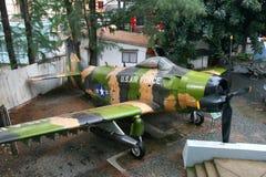 De Luchtmachtvliegtuig van de V.S. Stock Afbeelding
