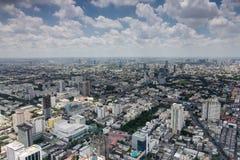 De luchtmening van Bangkok Stock Foto