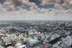 De luchtmening van Bangkok Royalty-vrije Stock Foto's