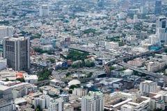 De luchtmening van Bangkok Royalty-vrije Stock Afbeeldingen