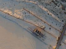 De luchtmening van het strand Royalty-vrije Stock Fotografie