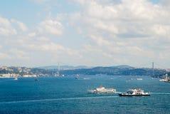 De luchtmening van Istanboel stock fotografie