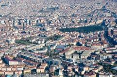De luchtmening van Istanboel royalty-vrije stock foto's
