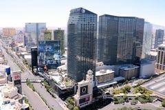 De luchtmening van Las Vegas royalty-vrije stock afbeelding