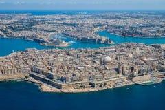 De luchtmening van Malta E royalty-vrije stock foto