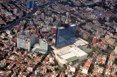 De Luchtmening van Mexico-City Royalty-vrije Stock Afbeeldingen