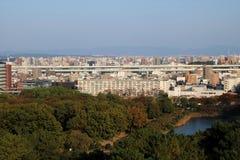 De Luchtmening van Nagoya royalty-vrije stock foto's