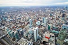 De luchtmening van Toronto Royalty-vrije Stock Foto