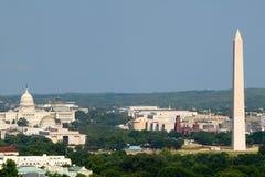 De luchtmening van Washington D.C. stock foto