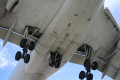 De luchtparade van vliegtuigen Royalty-vrije Stock Foto