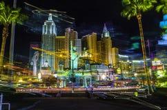 De Luchtspiegeling, Las Vegas Stock Foto's