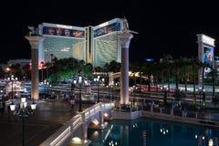 De luchtspiegeling in Las Vegas Royalty-vrije Stock Fotografie