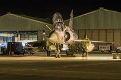 De Luchtspiegeling 2000 van Dassault Stock Foto