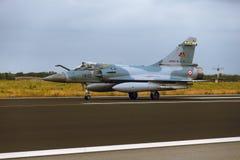 De Luchtspiegeling 2000 van Dassault bij NAVO Tiger Meet 2014 Stock Foto