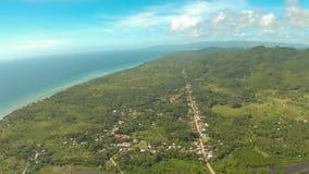 De luchtstad van Meningspablacio Anda Bohol Filipijnse aard stock fotografie