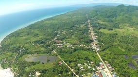 De luchtstad van Meningspablacio Anda Bohol Filipijnse aard stock foto