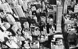 De luchtstad van New York