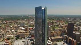 De luchtstad van Oklahoma Oklahoma stock videobeelden