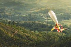 De luchtvaart voorziet voor luchtvaart op het gebied van wegwijzers royalty-vrije stock foto's