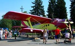 De luchtvaartfestival 2013 van Riga Stock Afbeelding