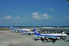 De Luchtvaartlijnen van ANA van Japan Stock Foto's