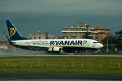 De Luchtvaartlijnen van Ryan Royalty-vrije Stock Foto