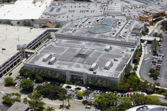 De luchtwandelgalerij van beeldnordstrom Aventura Stock Foto