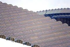 De Luifel van het Stadion van de voetbal Royalty-vrije Stock Fotografie