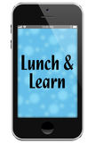 De lunch en leert royalty-vrije stock fotografie