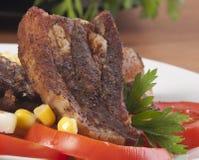 De lunch van het lapje vlees stock foto's