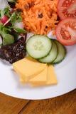 De lunch van Ploughmans Stock Fotografie